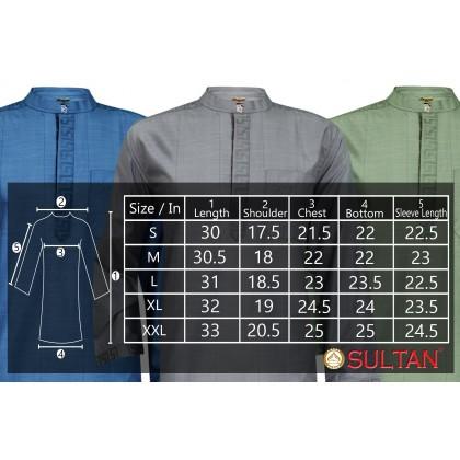 SULTAN KURTA - RYAN D2- COLLAR  FULL SLEEVES